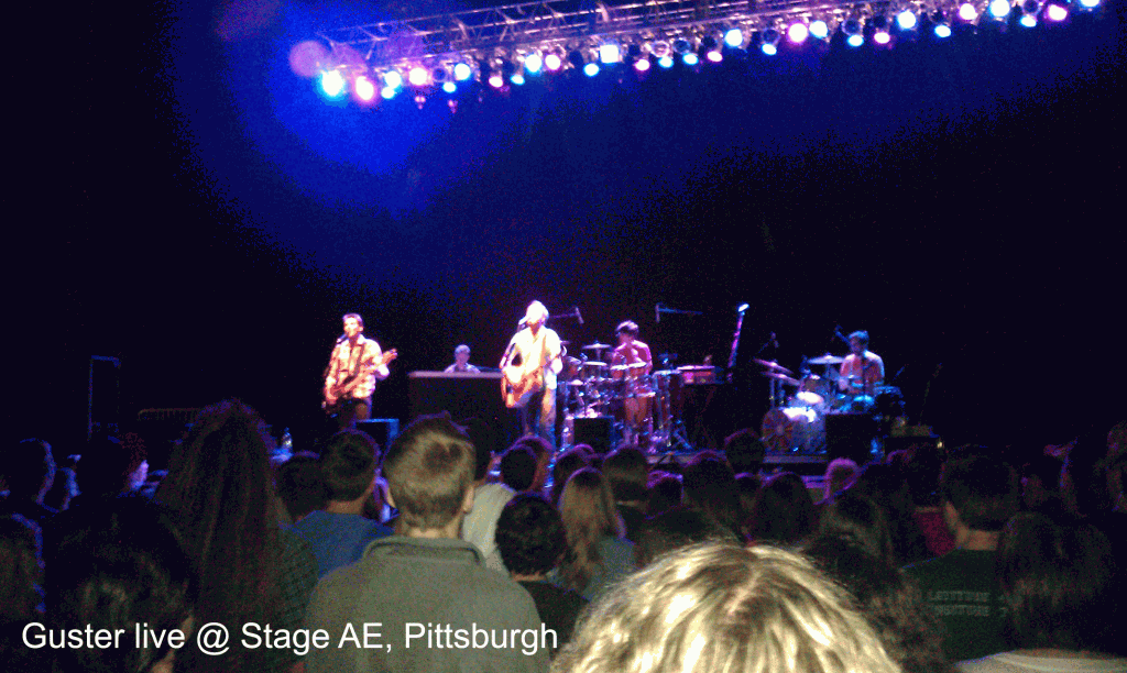Guster live at Stage AE, Pittsburgh
