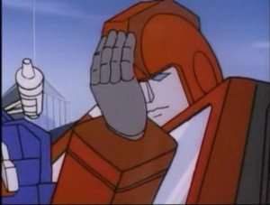 Transformer Facepalm
