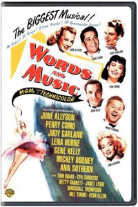 Words and Music DVD artwork