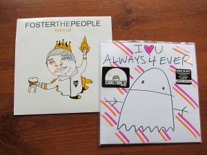 Jukebox the Ghost and Foster the People 45s