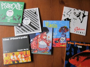 Bizarre Ride II the Pharcyde Singles Collection 45s