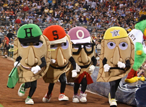 Pierogi races at the Pirates baseball games