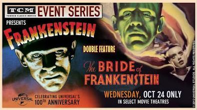 Frankestein Double Feature presented by TCM