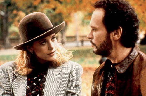 When Harry Met Sally - Sally's nagging look