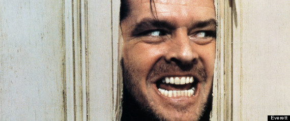 The Shining, Jack Nicholson CRAZY