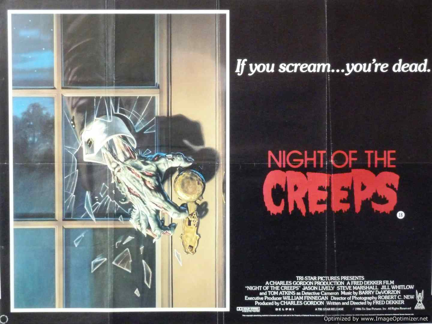 30Hz Horror - Night of the Creeps