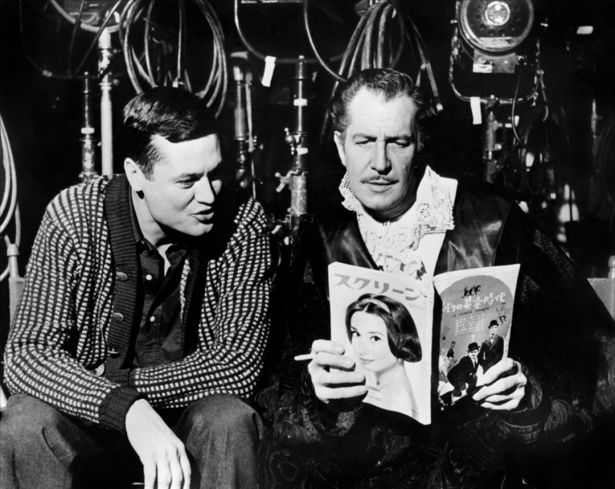 Vincent Price and Roger Corman