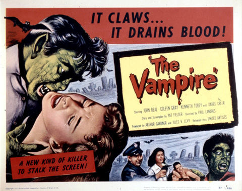 30Hz Horror - The Vampire (1957)