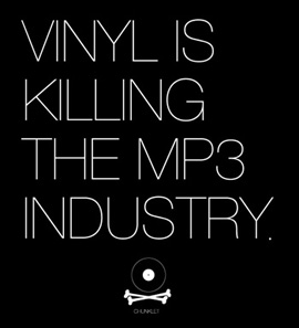 Vinyl is killing the mp3 industry - Chunklet
