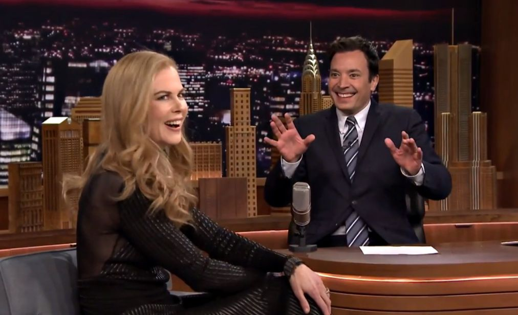 Nicole Kidman on Jimmy Fallon