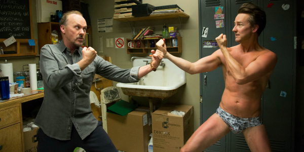 Birdman - michael keaton and edward norton