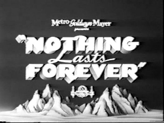 Nothing Lasts Forever - 1984