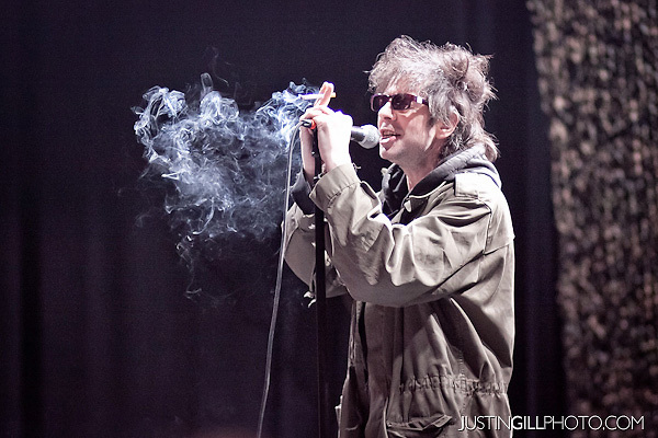 photo by Justin Gill. This image pretty much sums up Ian McCulloch.