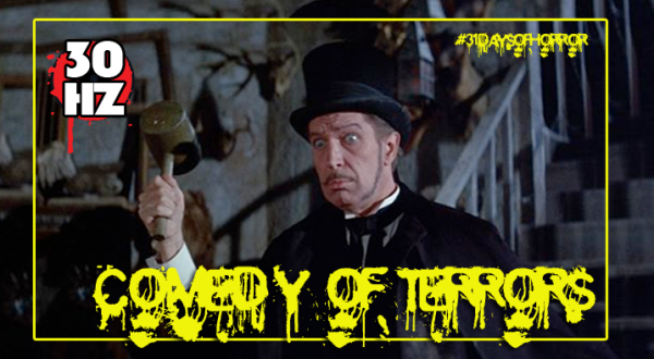 comedy of terrors 31daysofhorror