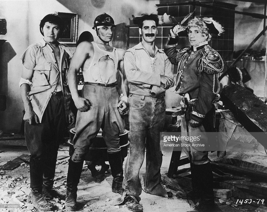 Chico, ZEPPO, Groucho and Harpo.
