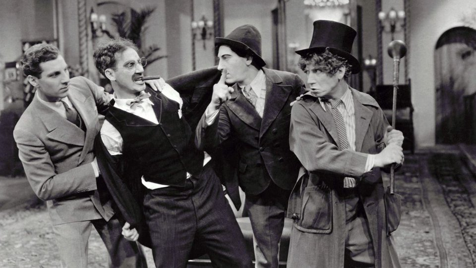 The Marx Brothers in The Cocoanuts