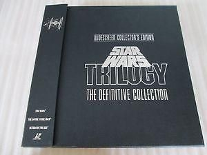 Star Wars Trilogy The Definitive Collection Laserdisc
