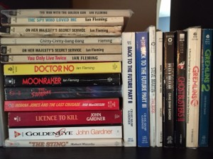 Movie novelizations and some Bond books