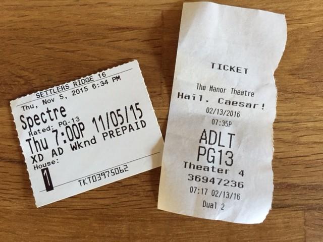 spectre & hail, caesar tickets
