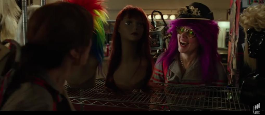 kate mckinnon ghostbusters wig