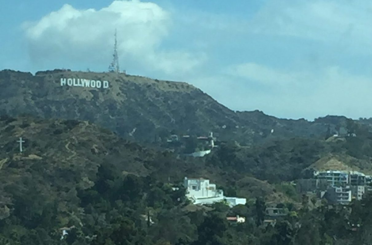 hollywood sign 2016 TCM Film Festival