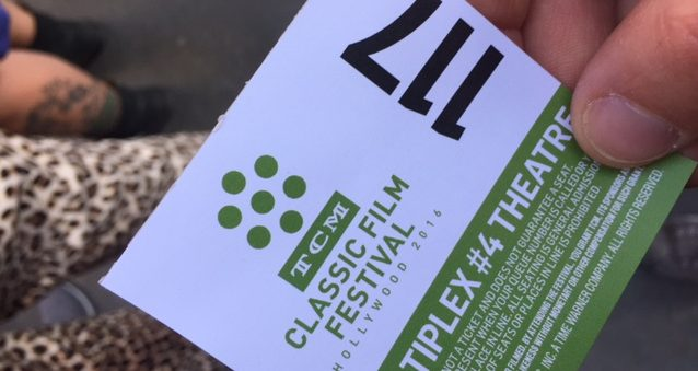 tcmff ticket 2016 TCM Film Festival