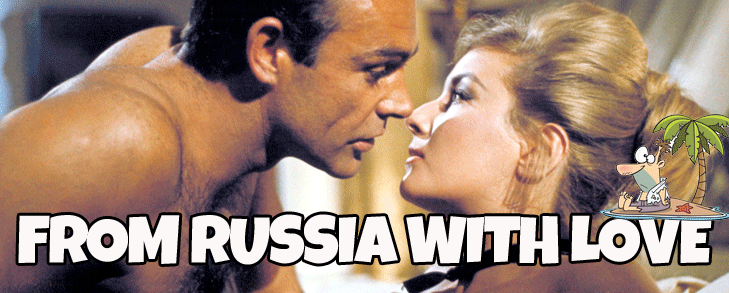 from russia with love desert island movies