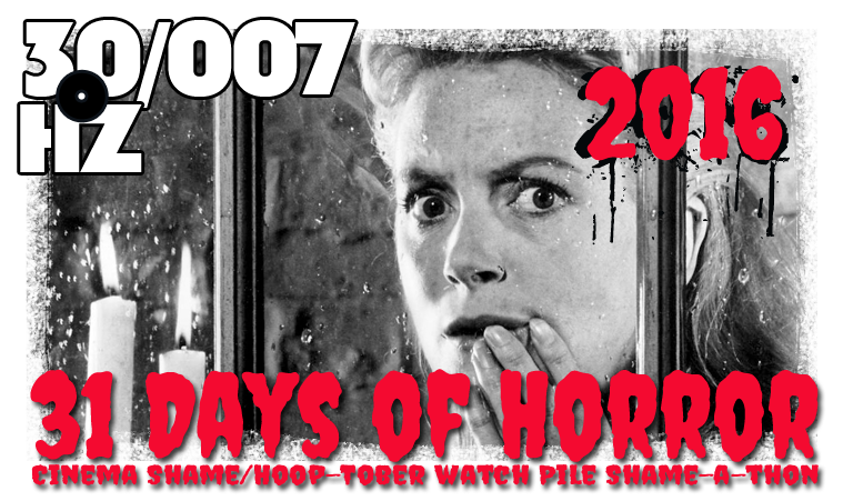 31 days of horror 2016