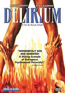 delirium 1972 dvd