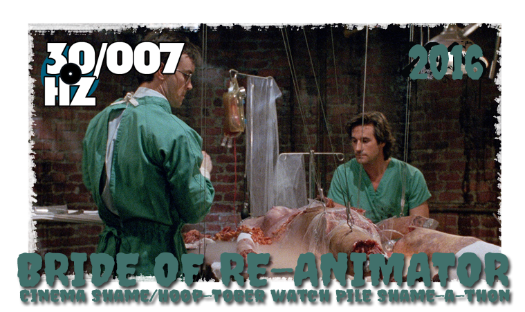 31 days of horror bride of re-animator