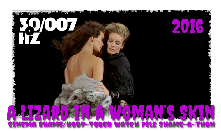 a lizard in a woman's skin 31 days of horror