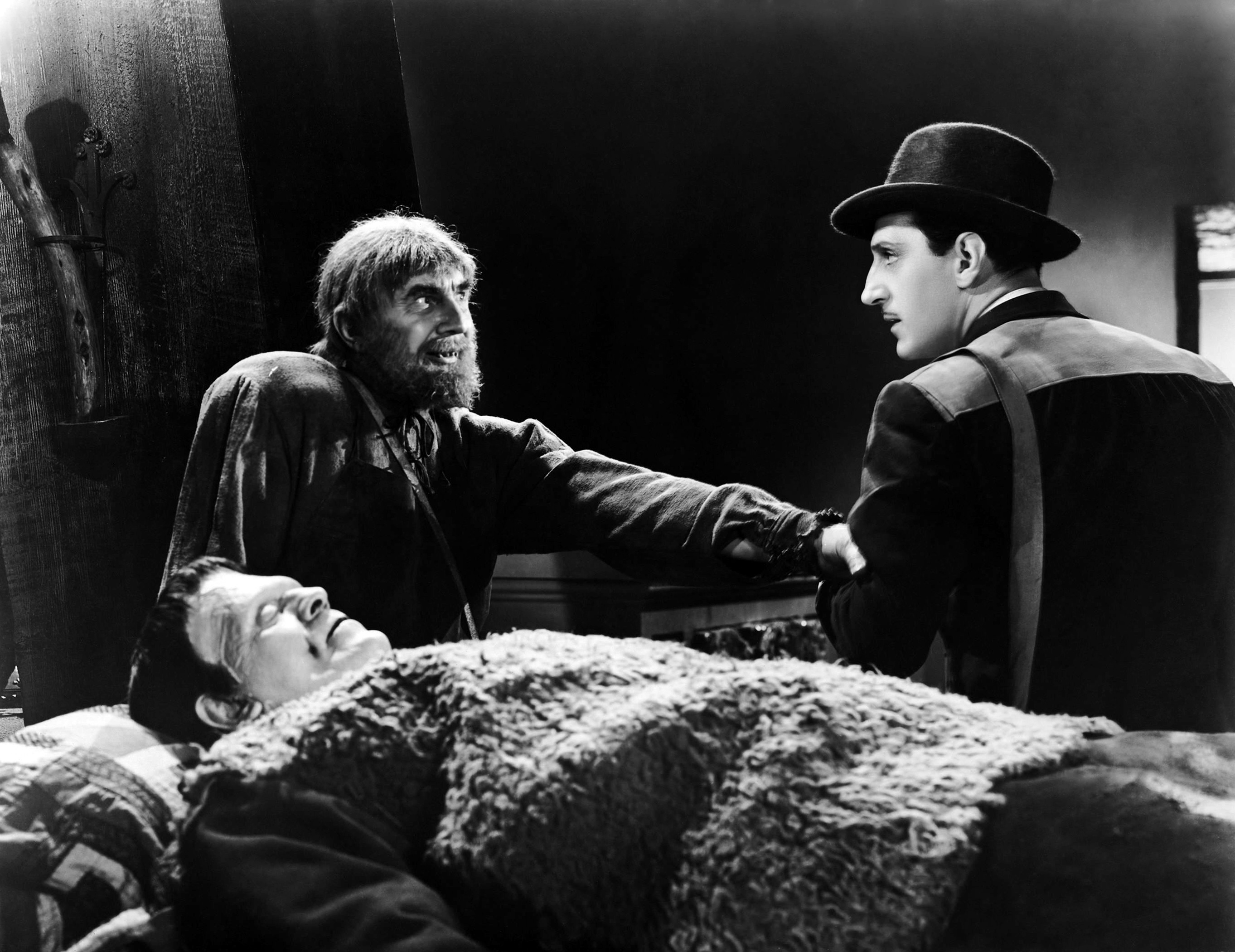 son of frankenstein rathbone, lugosi, karloff
