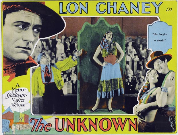the unknown 1927 lobby card