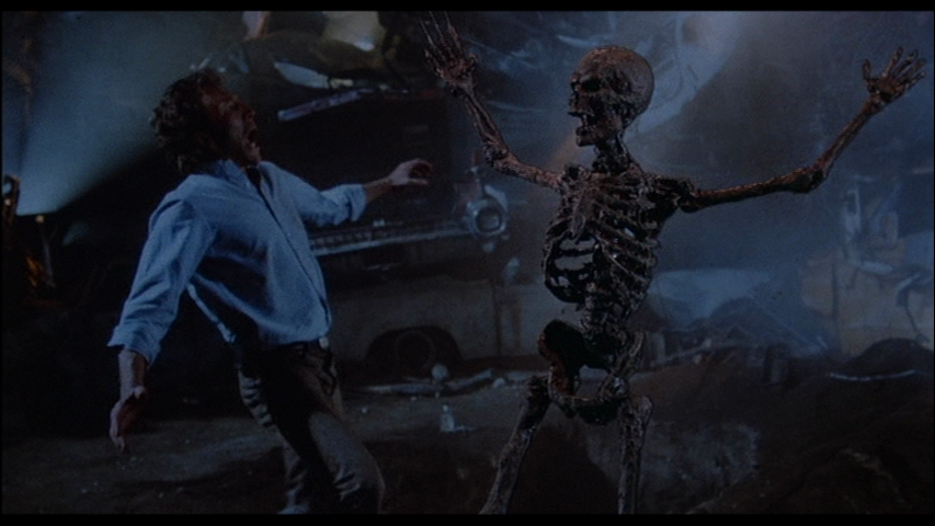 a nightmare on elm street 3 skeleton