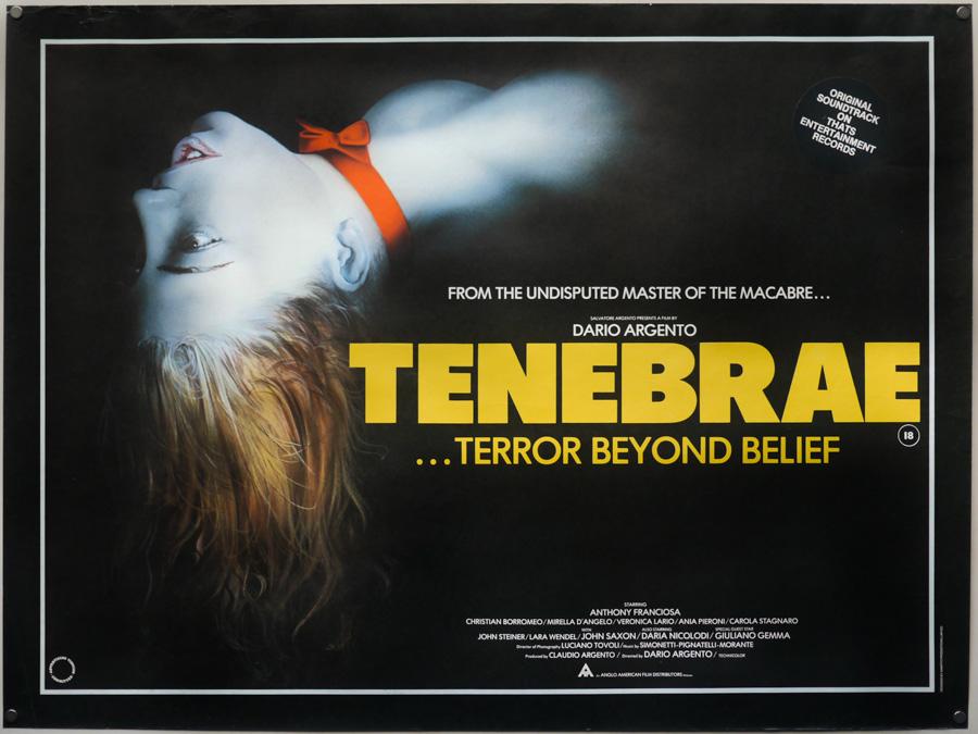 Tenebrae UK quad poster