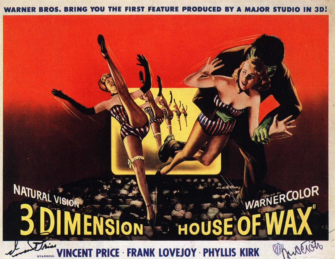 House of Wax (1953) 3-D poster