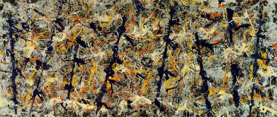 Jackson Pollock - Blue Poles