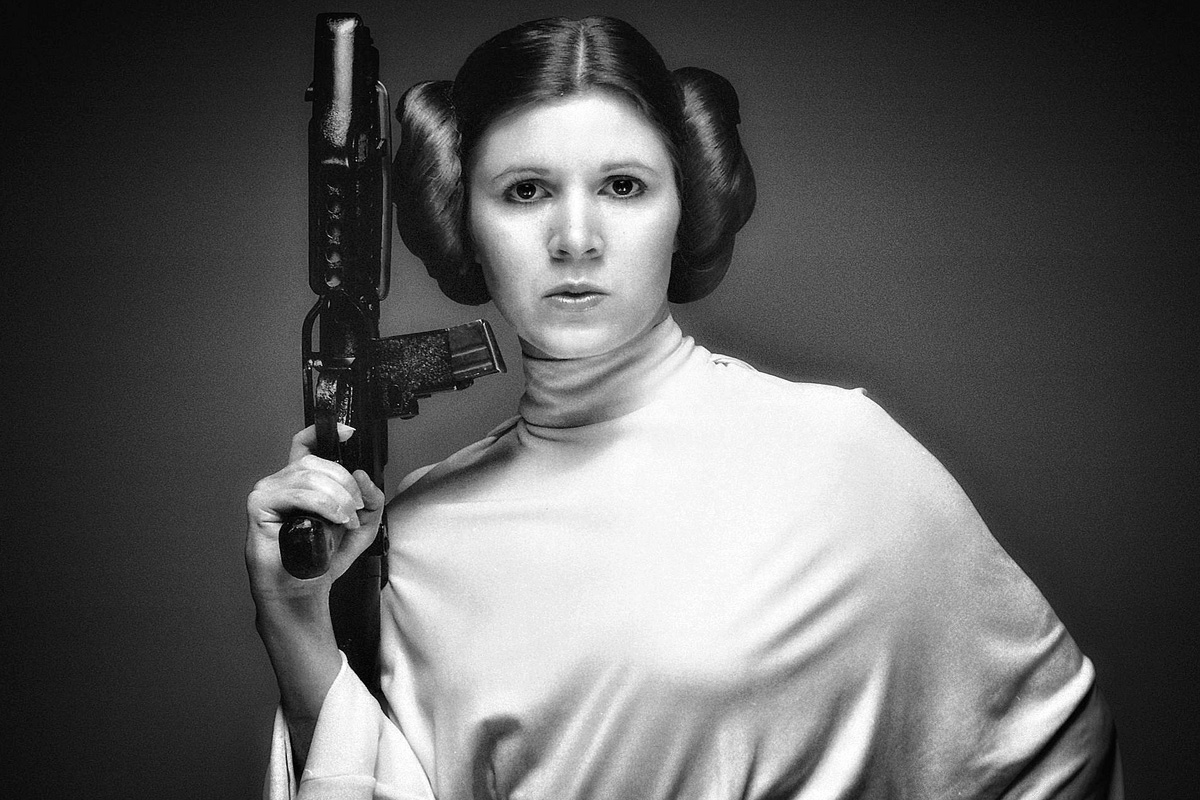 mourning carrie fisher