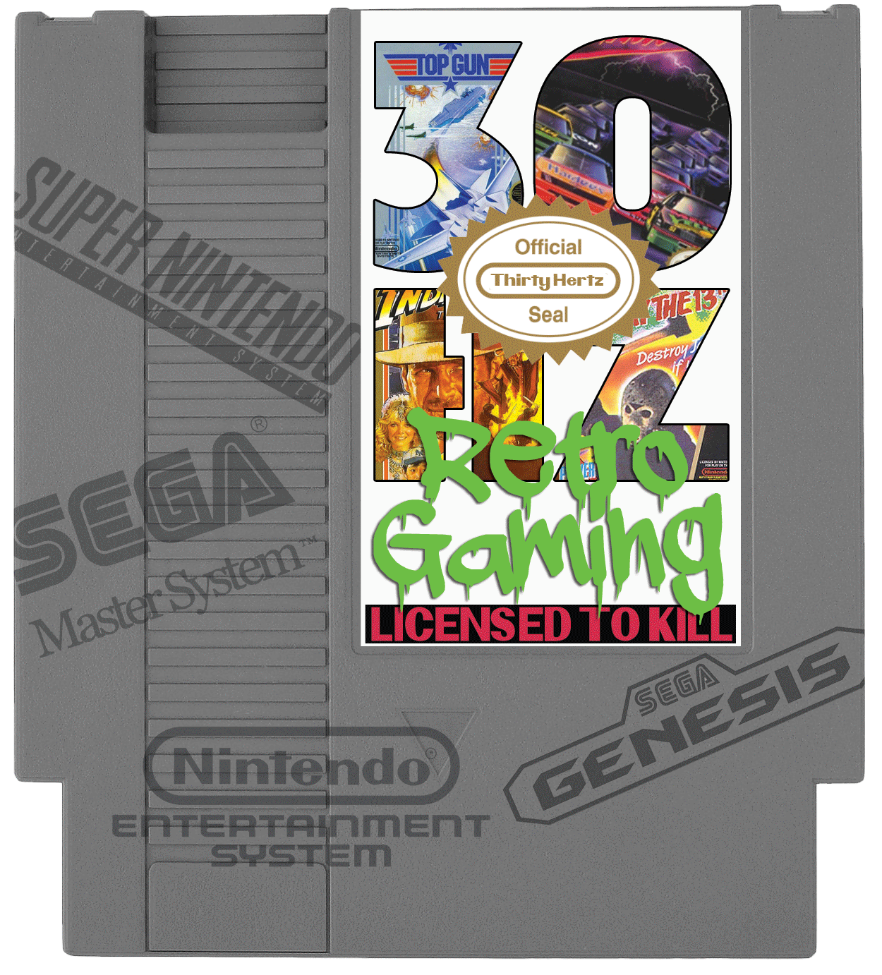 licensed to kill retro licensed gaming