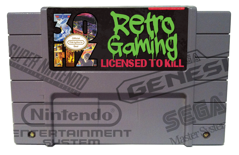 retro gaming licensed to kill