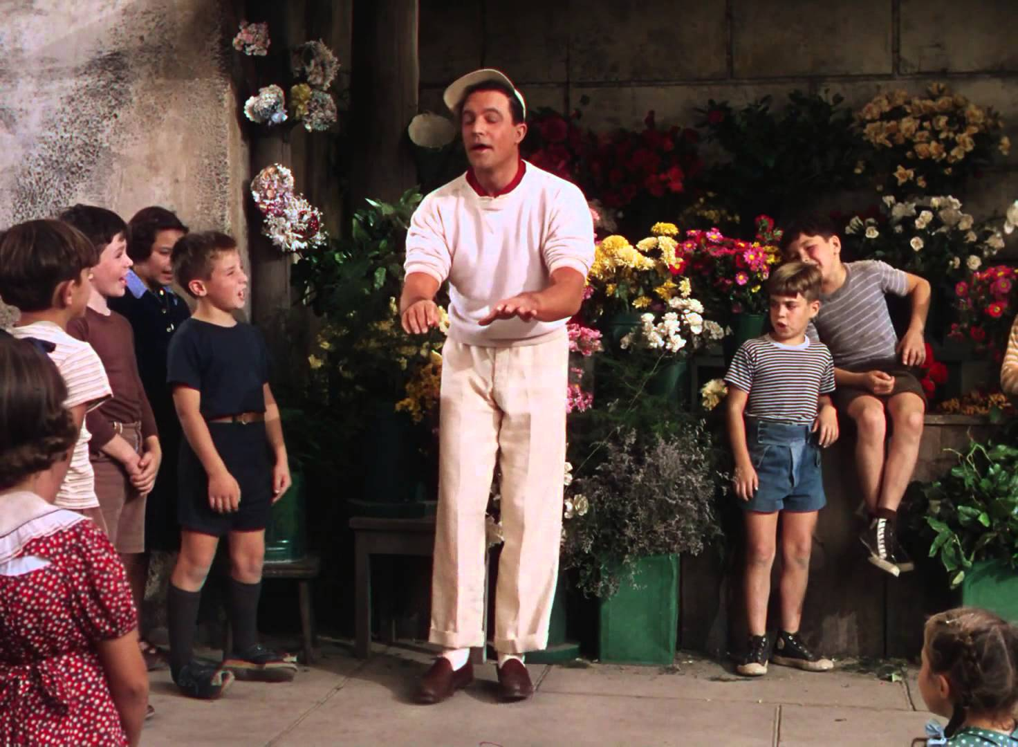 an american in paris gene kelly kids