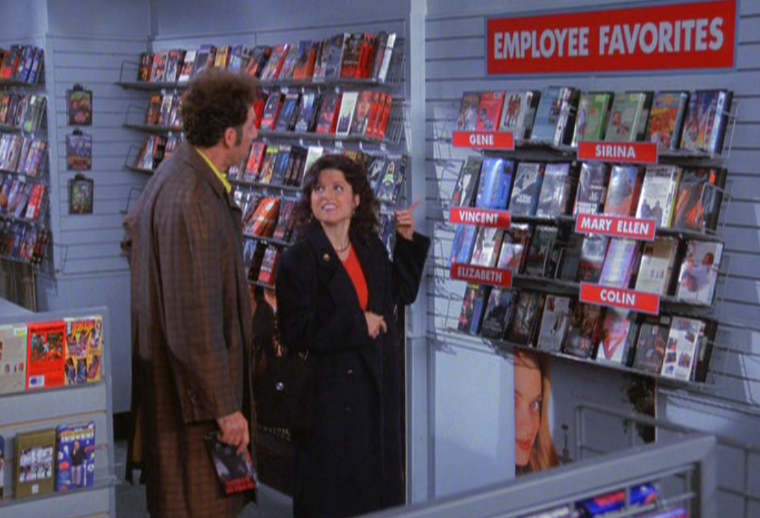 Gene's Picks, Netflix, and the War on Physical Media