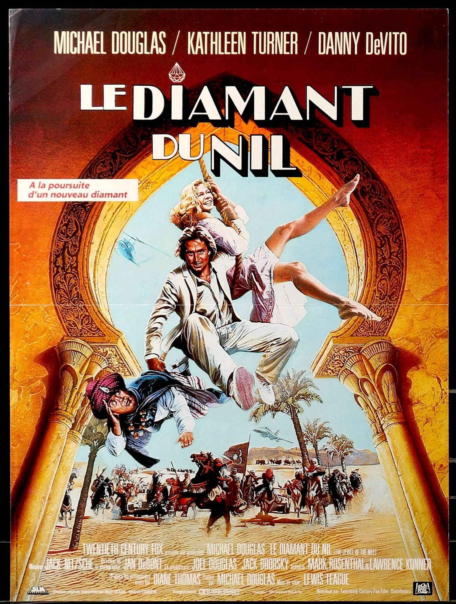 the jewel of the nile french poster