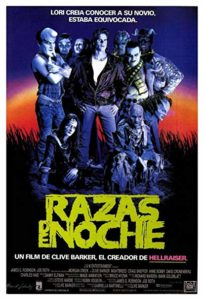 nightbreed spanish poster
