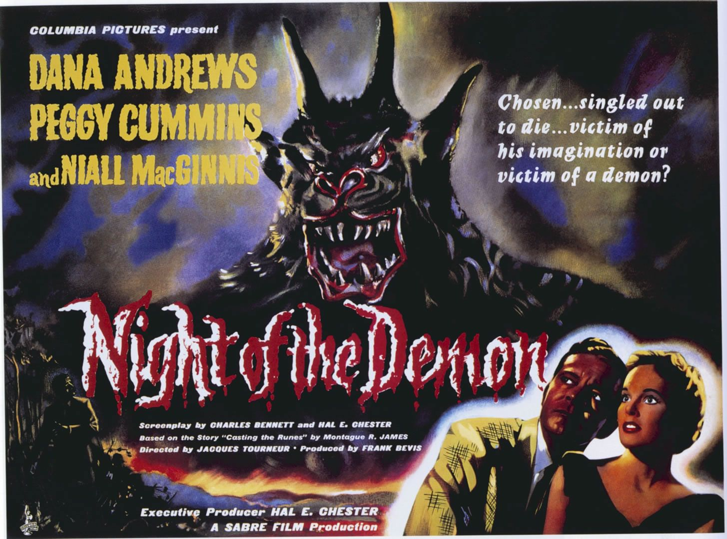 night of the demon 31 days of horror