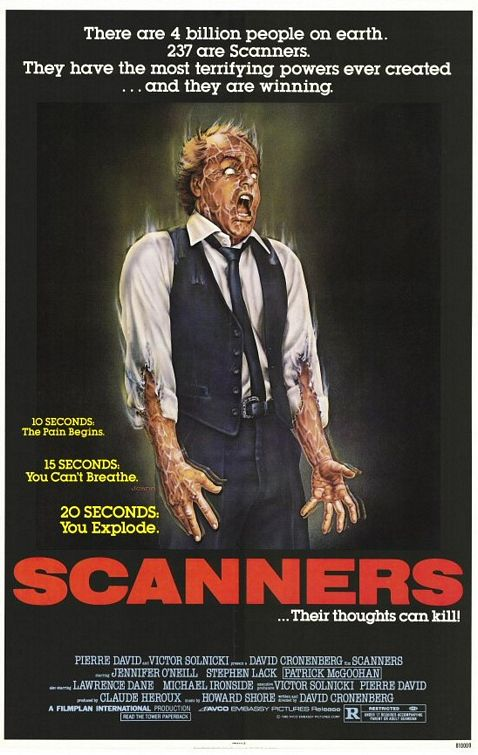 scanners 31 days of horror