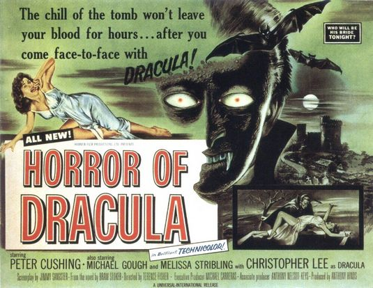 horror of dracula 31 days of horror