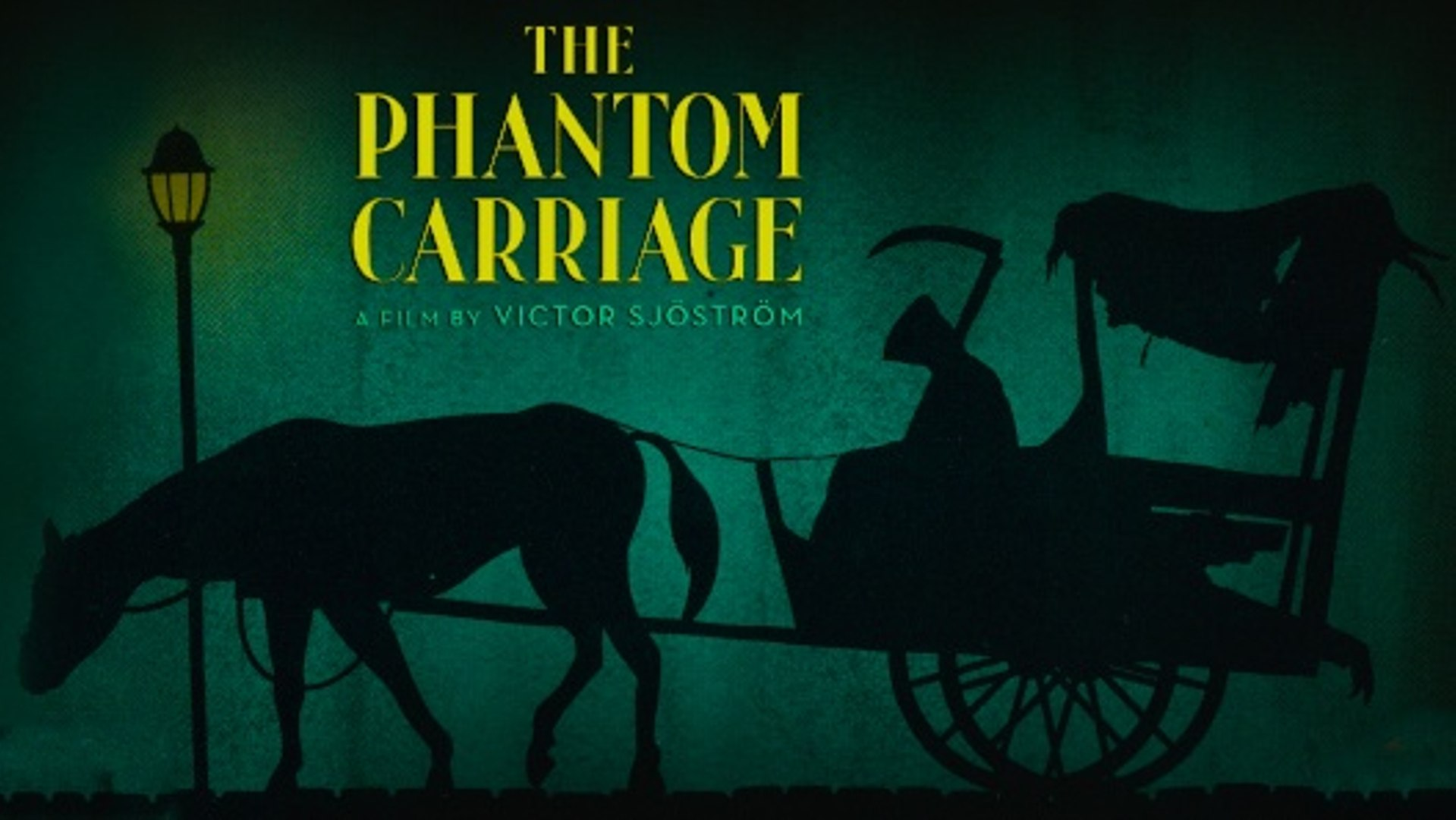 the phantom carriage 31 days of horror