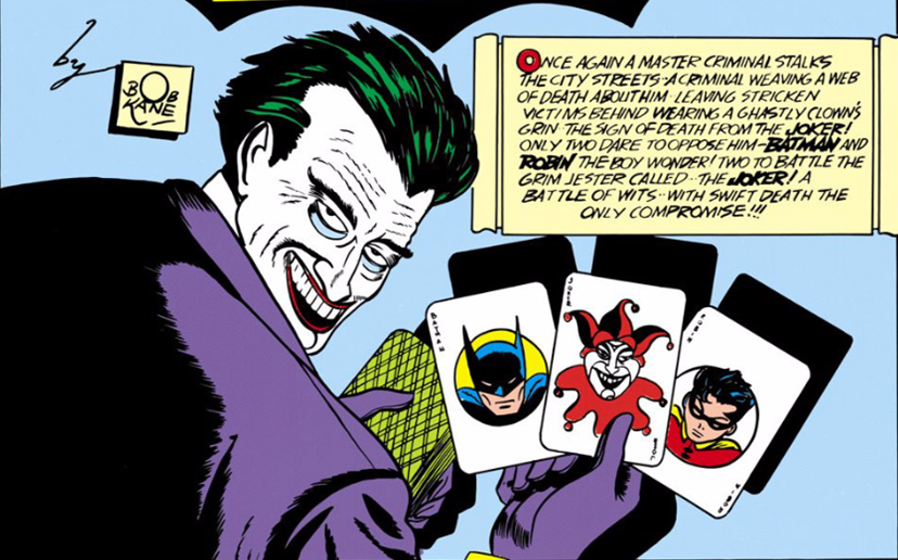 the joker 1940 batman