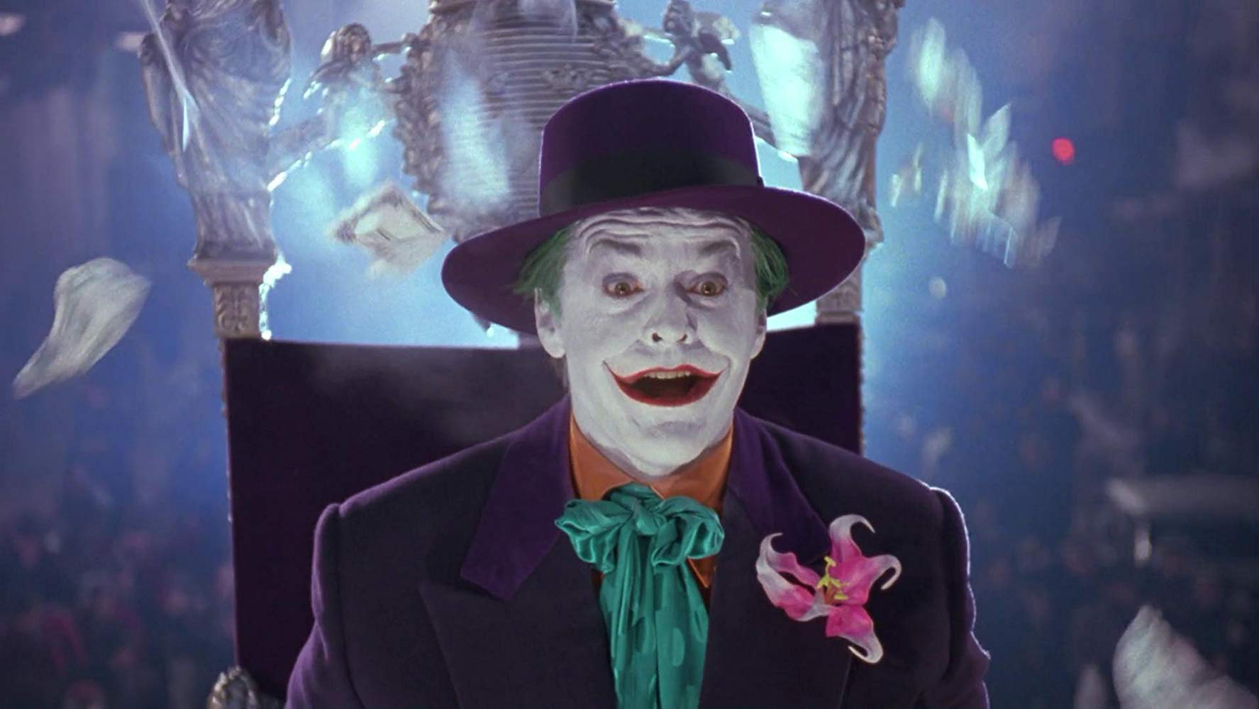 Jack Nicholson's Joker in Batman (1989)